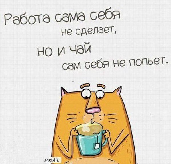 Смешная картинка чай