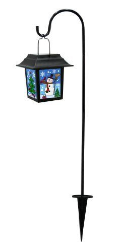Alpine Snowman Solar Lantern with 1 White LED Lights by Alpine. $25.99. Snowman Solar Lantern with 1 White LED Lights. Design is stylish and innovative. Satisfaction Ensured.
