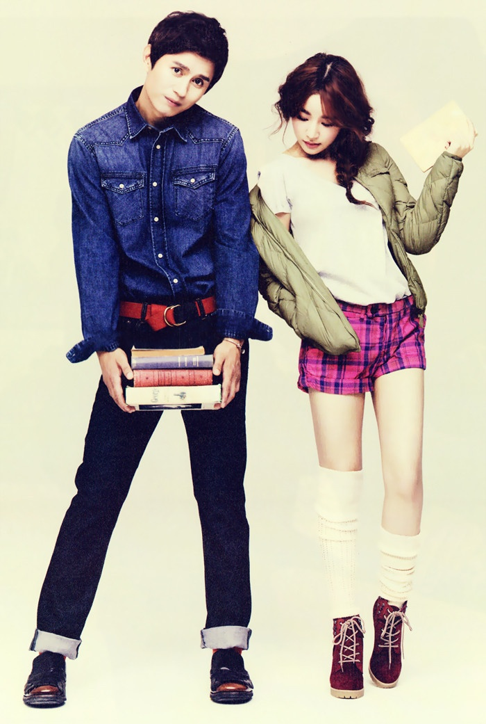 Kim Min-jong and Yoon Jin-yi for High Cut