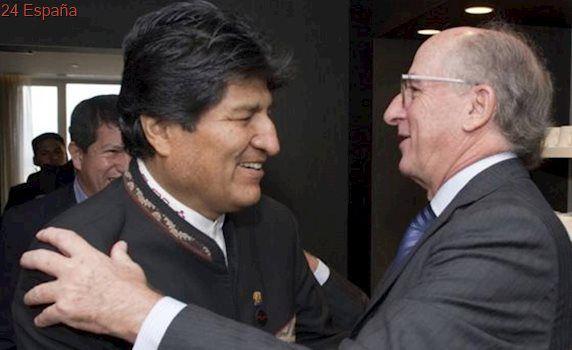 Brufau cierra con Evo Morales la apertura de un nuevo yacimiento de gas en Bolivia