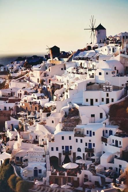 Seaside houses in Santorini, Greece.: Spaces, Bucket List, Santorini Greece, Favorite Places, Dream, Beautiful Place, Travel, Greek Islands, Destination
