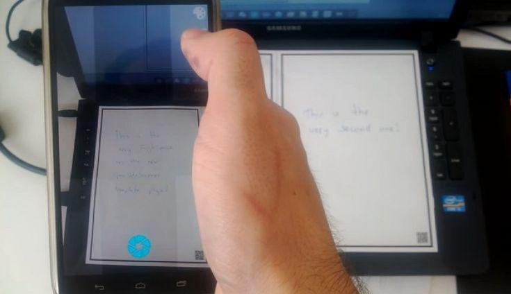 Open Note Scanner [Android] permite escanear notas manuscritas y documentos