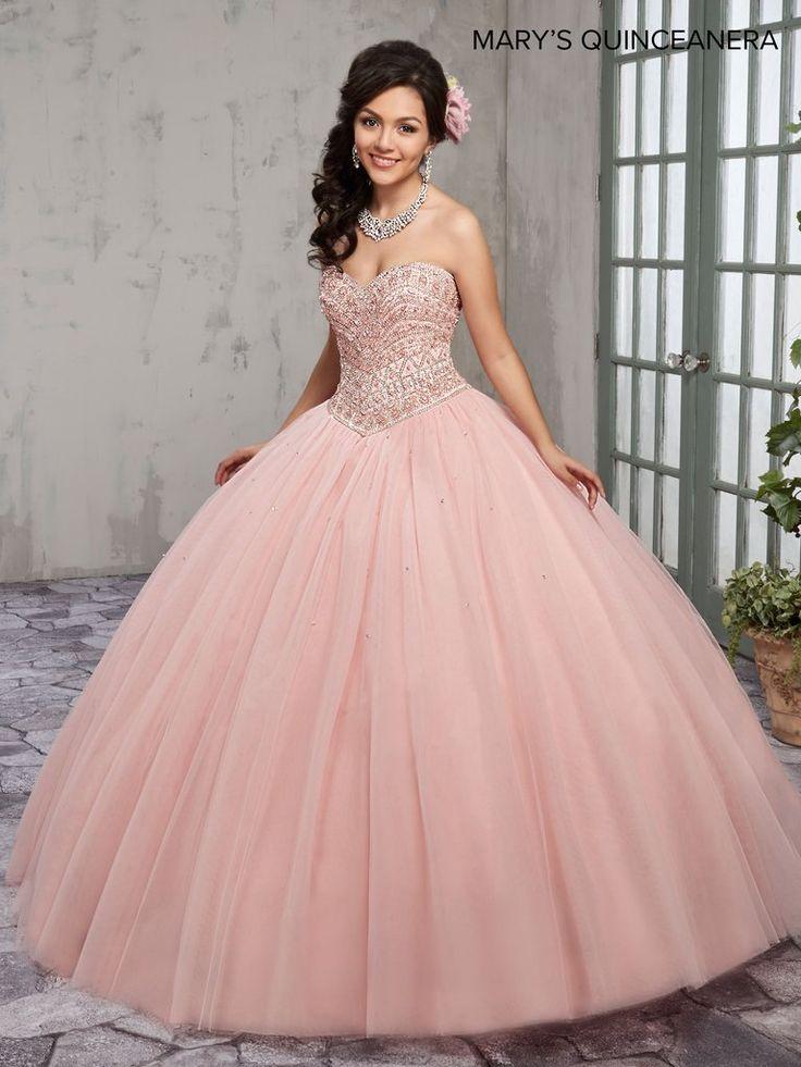 27 mejores imágenes de Vestidos de XV color rosa palo en Pinterest ...