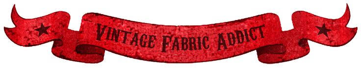 Vintage Fabric Addict - true vintage fabrics, Free post in Australia!