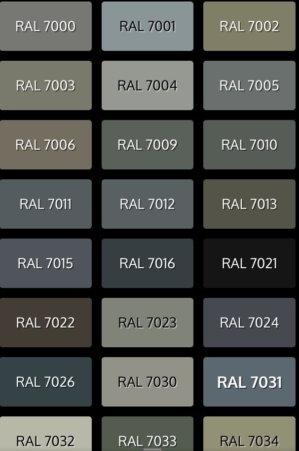 Ral Farben Ral Farben In 2020 Window Frame Colours Ral