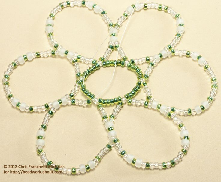 Free Seed Bead Ornament Patterns | Small Beaded Ornament Cover Pattern