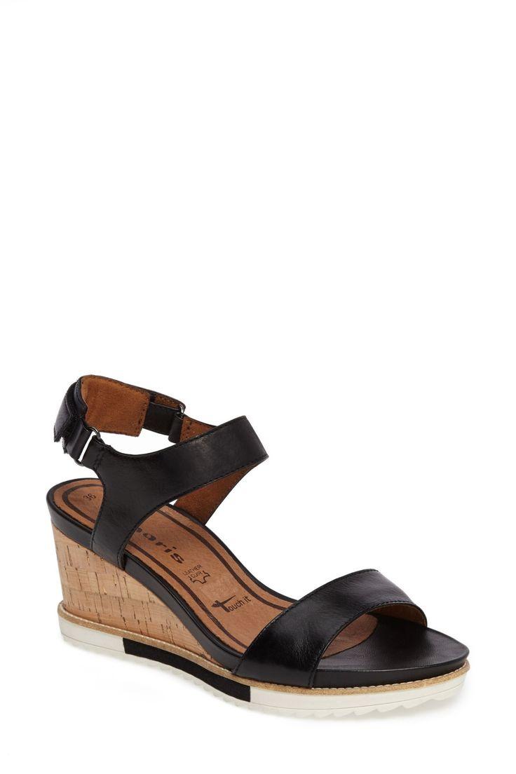 'Alis' Lug Sole Wedge Sandal (Women)
