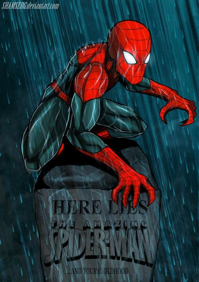 the SUPERIOR SPIDER-MAN by shamserg