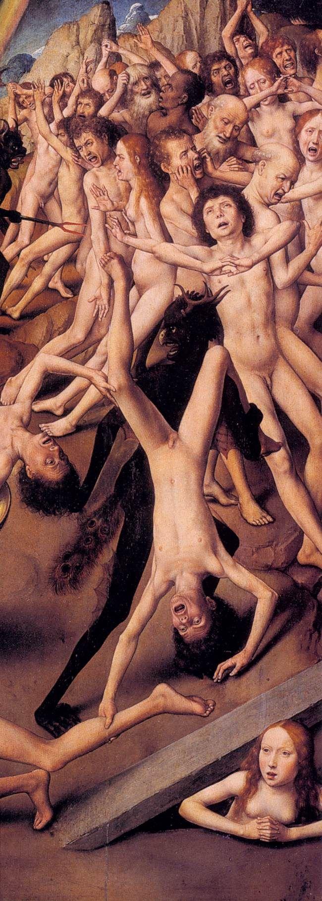 Hans Memling - Last Judgment Triptych (1467-71) - detail