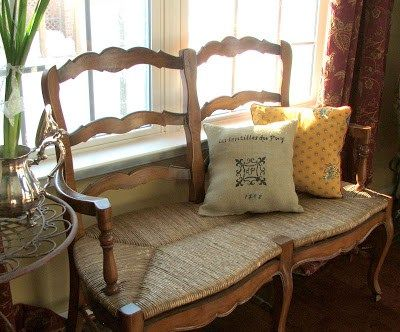 Another French Chair and Pillow. Home. Furniture