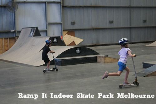 Ramp It Melbourne – an indoor skate park located in Mitcham