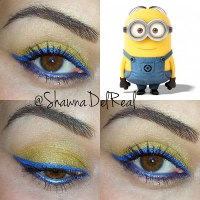 minion makeup - Google Search                                                                                                                                                                                 More