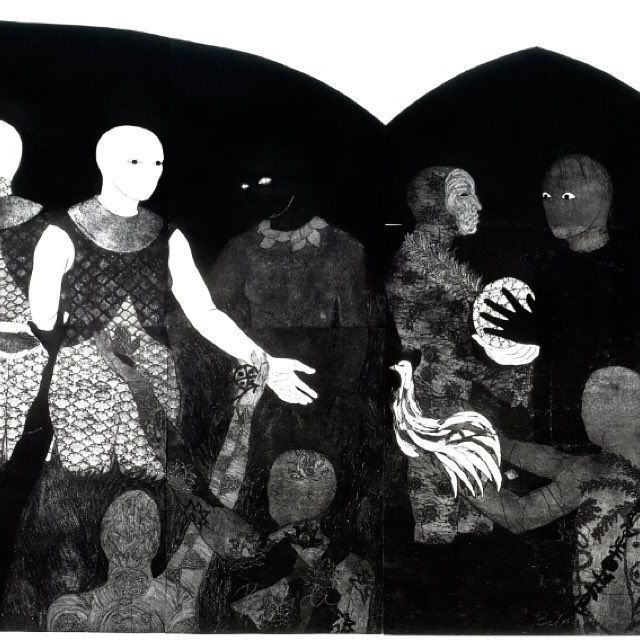 Belkis Ayón, Perfidia (Perfidy), 1998. Collograph. Collection of the Belkis Ayón Estate. Courtesy of the Fowler Museum.⠀ Included in the DCA 2016 Latino Heritage Month Calendar and Culture Guide, Nkame: A Retrospective of Cuban Printmaker Belkis Ayón is  the first solo museum exhibition in the United States dedicated to the work of Belkis Ayón (1967 – 1999). ⠀ On view October 2 through February 12, 2017, Wednesdays, Fridays, Saturdays, and Sundays 12:00 noon – 5:00 p.m. , Thursdays 12:00…