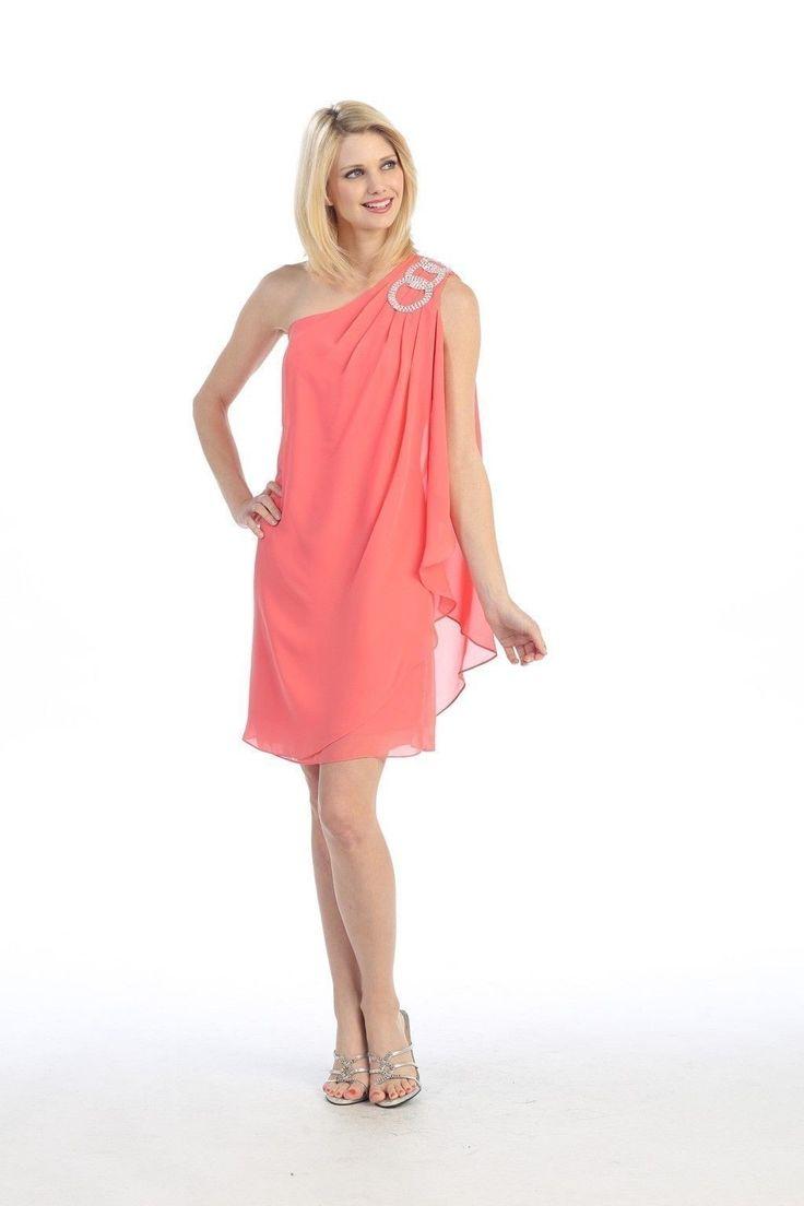 16 besten Stunning Coral Bridesmaid Dresses Bilder auf Pinterest ...