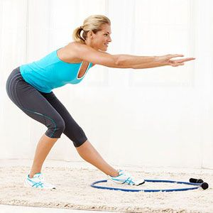Jackie Earners at home circuit workout