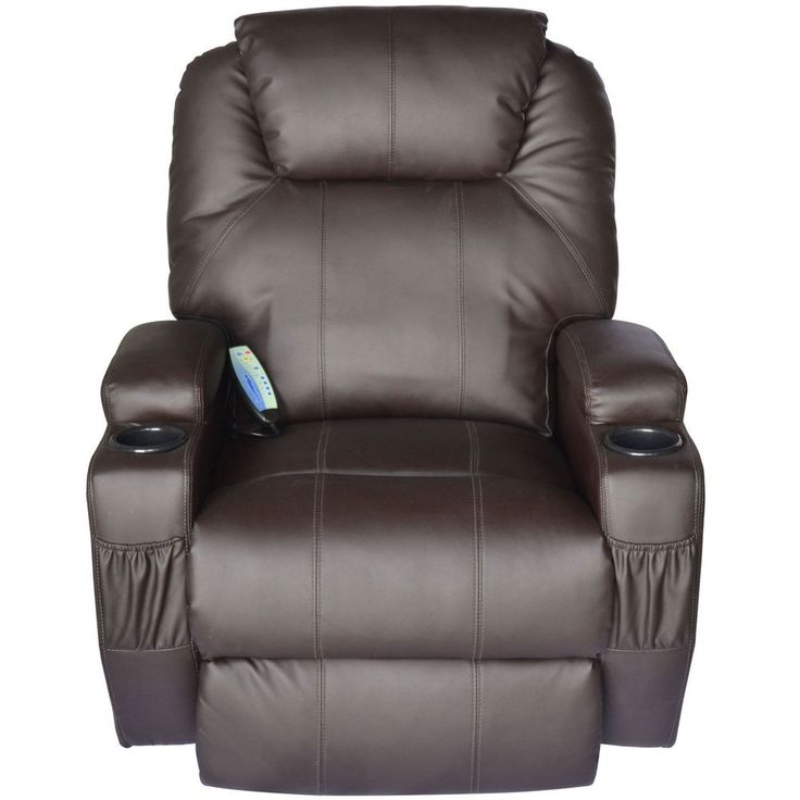 Electric Lift Power Recliner Chair Heated Massage Sofa Lounge w/ Remote Control #ElectricLiftPowerRecliner