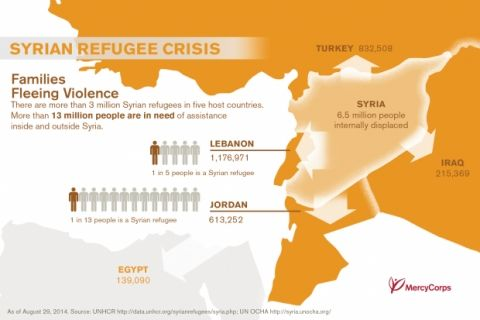 Quick facts: What you need to know about the Syria crisis as of August 29, 2014