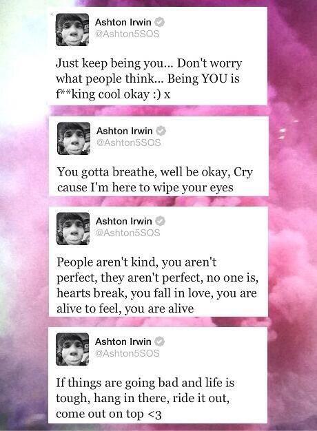 Ashton Irwin 5sos tweets