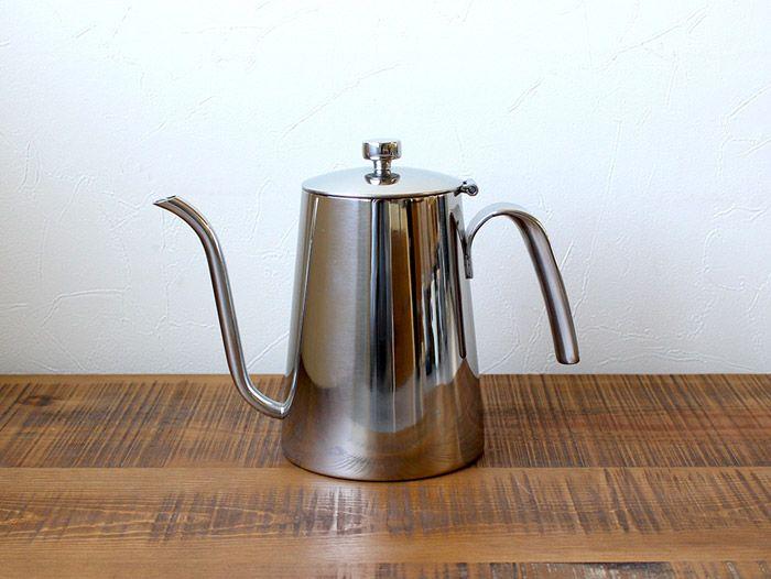 6000円ケトル 900ml SLOW COFFEE STYLE 直火OK 食洗機・乾燥機使用可 900mlのシンプルで使いやすいステンレス製コーヒーケトル 02P06May15