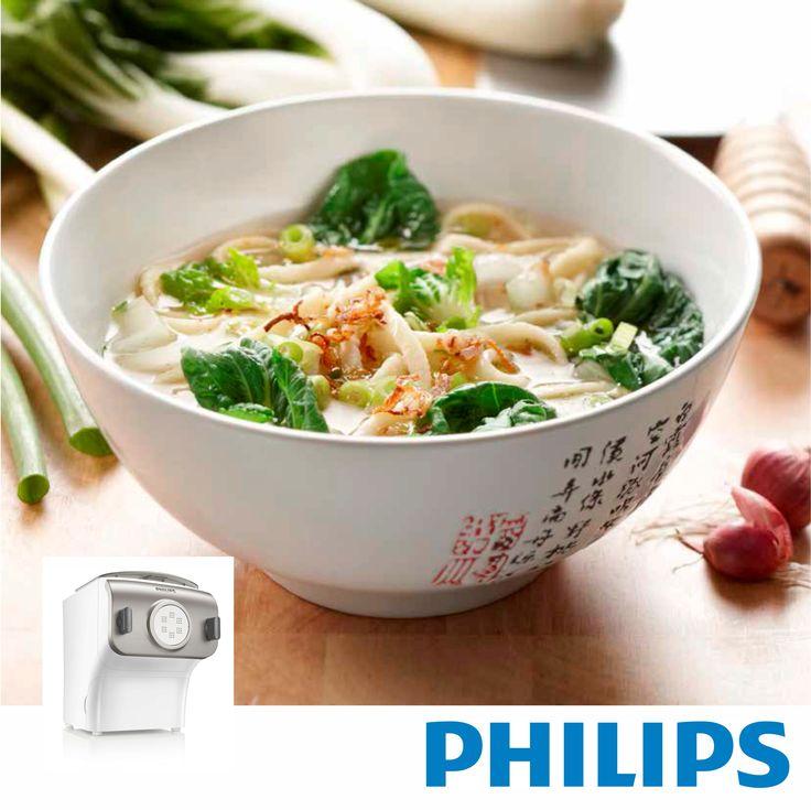 #Philips #HR2355, Maquina para hacer #pasta y #fideos. #comidacasera #pastacasera  #RECETA #Yang chun mian de #Shanghai