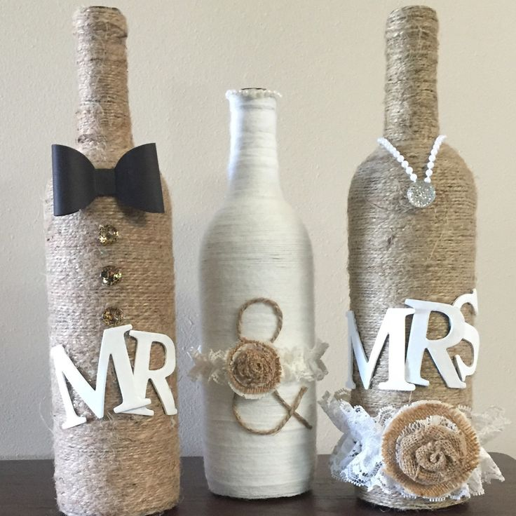 Mr and mrs.. A perfect center piece