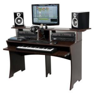 music desk studio deskhome studiodesign. Interior Design Ideas. Home Design Ideas