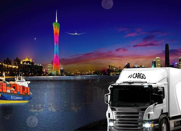 FJ Cargo at Guangzhou - China