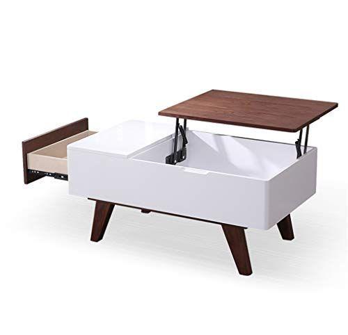 lifting wooden coffee table modern minimalist style living room rh pinterest com