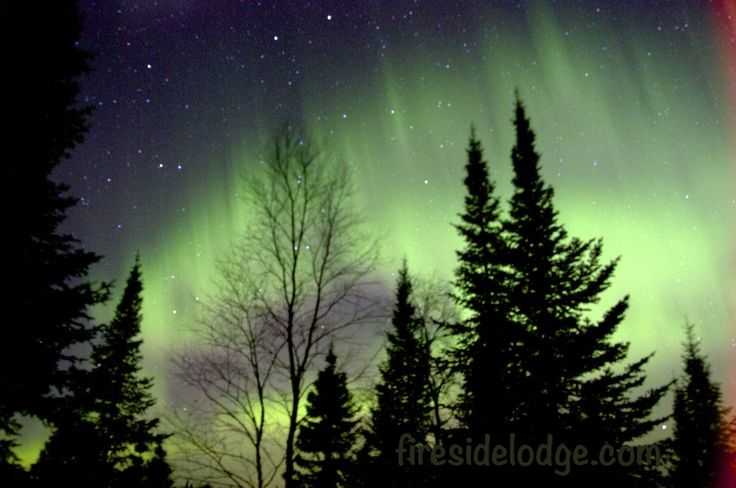 It is always breathtaking to experience the Northern Lights at www.firesidelodge.com