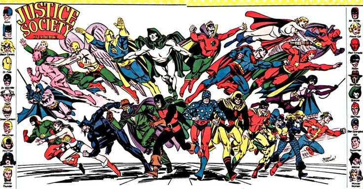 Justice Society of America, Who's Who, pre-Crisis, Jerry Ordway