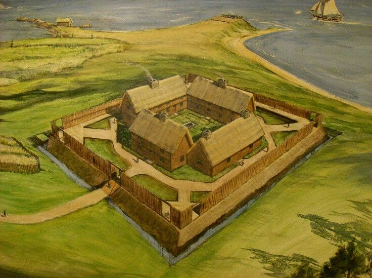 American Colonial Fort Historical Pictures Pinterest