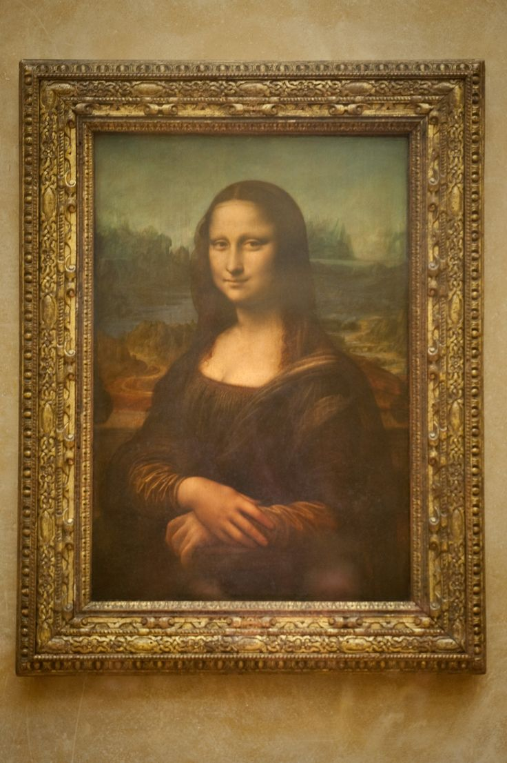 Mona Lisa, painted by Leonardo da Vinci in 1503-15 on oil ...