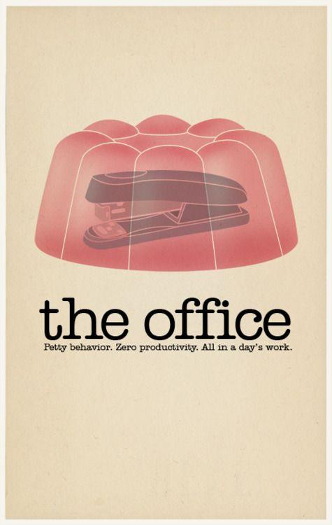 The Office. Comportamento mesquinho. Produtividade zero. Tudo em um dia de trabalho