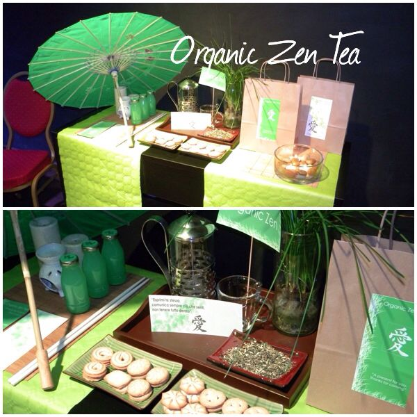 """CI VEDIAMO ALL'ANGOLO"" Organic zen tea..."