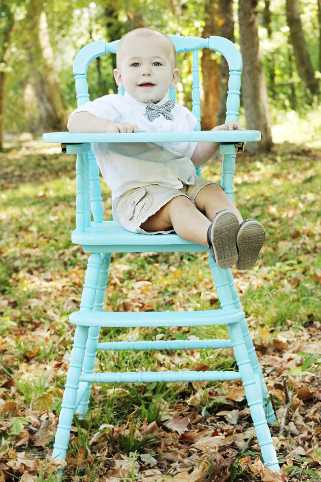 30 Best Images About Painted High Chair On Pinterest