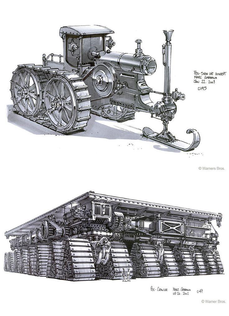 819 best steampunk land craft images on pinterest for Industrial punk design