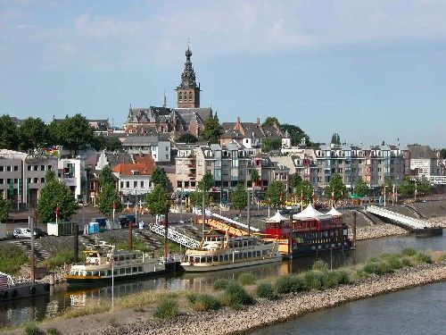 Nijmegen, the Netherlands.  Man I love this place
