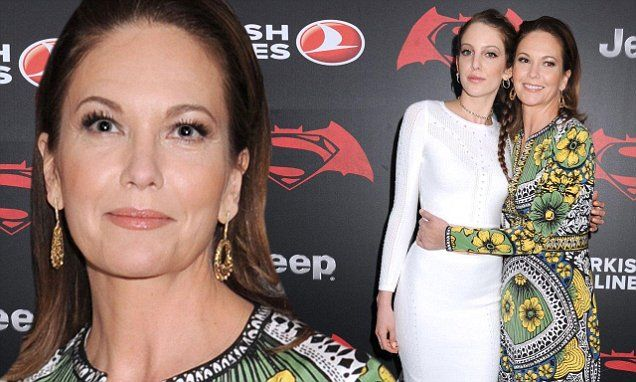Diane Lane and daughter Eleanor stun at Batman V Superman premiere