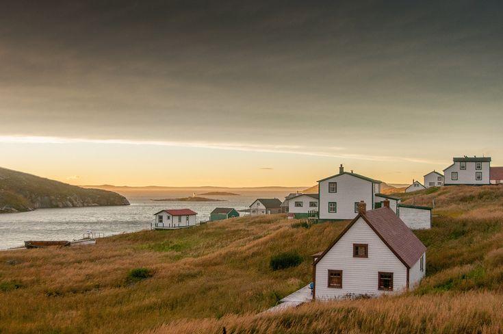 Battle Harbor at sunset - Newfoundland and Labrador