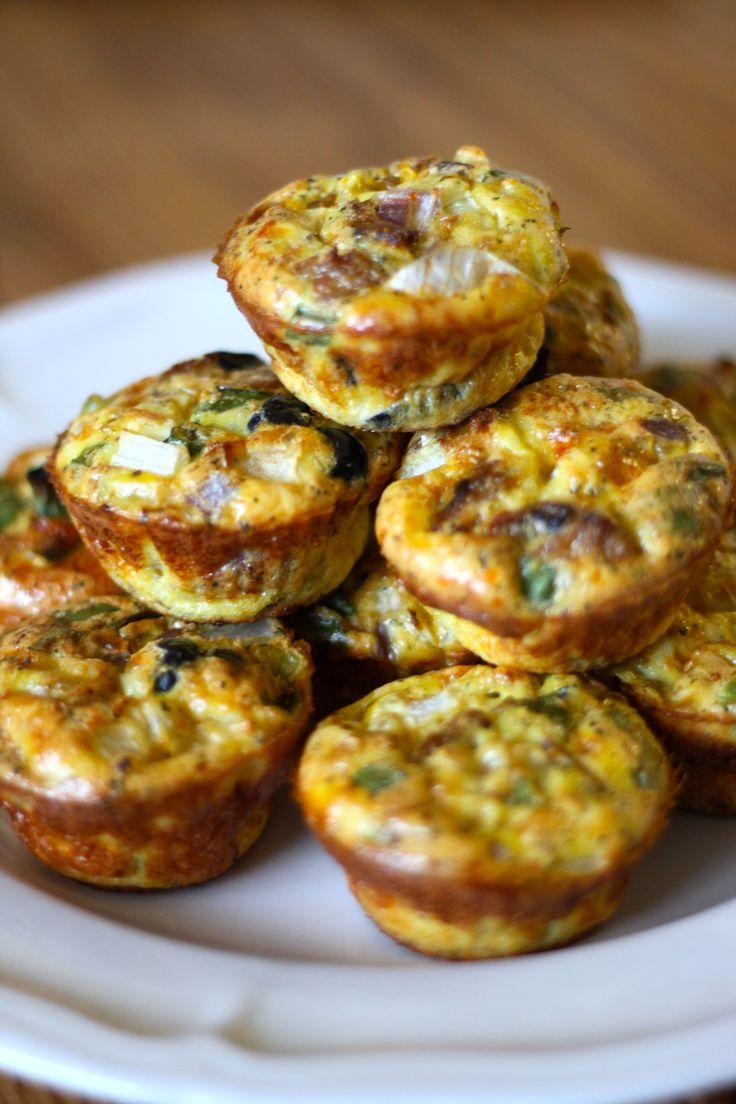 Kitchen Sink Egg Muffins (Paleo/Primal/Gluten Free/DairyFree)