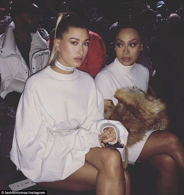 New pal? Hailey, the daughter of actor Stephen Baldwin, was seen with La La Anthony, 37...