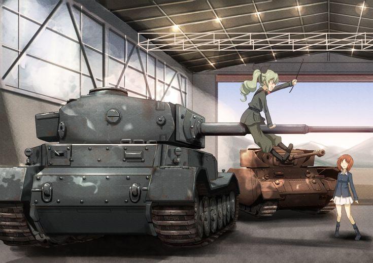 Girls und Panzer: Horsing around...