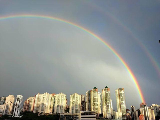 Arco-Íris São Paulo fonte: i.pinimg.com
