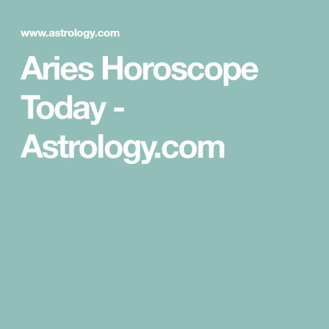 Aries Horoscope Today - Astrology.com