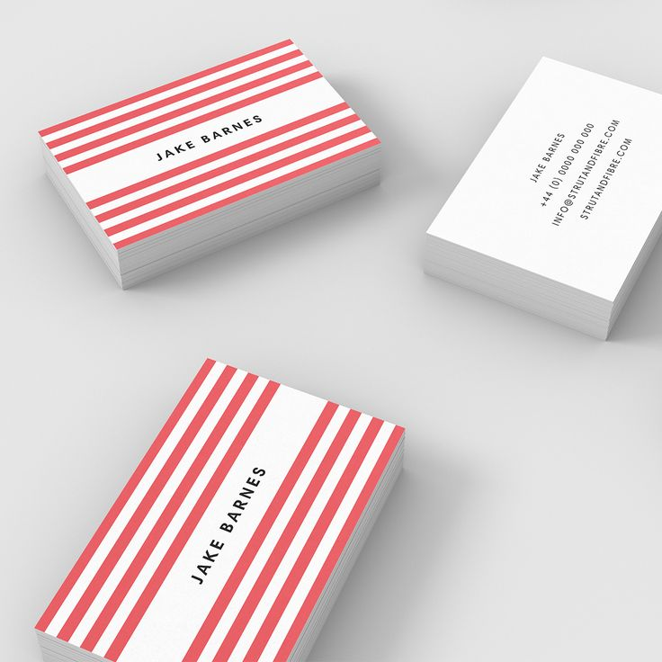 Best 25 Stripes Strut And Fibre Business Card Templates Ideas On