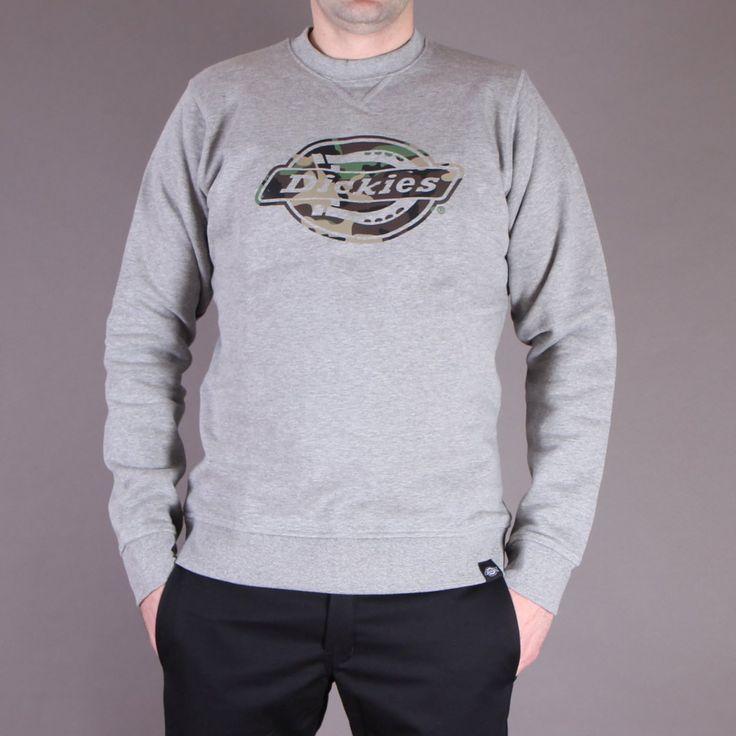 Szara bluza Dickies Vermont Gray Melange / www.brandsplanet.pl / #dickies streetwear