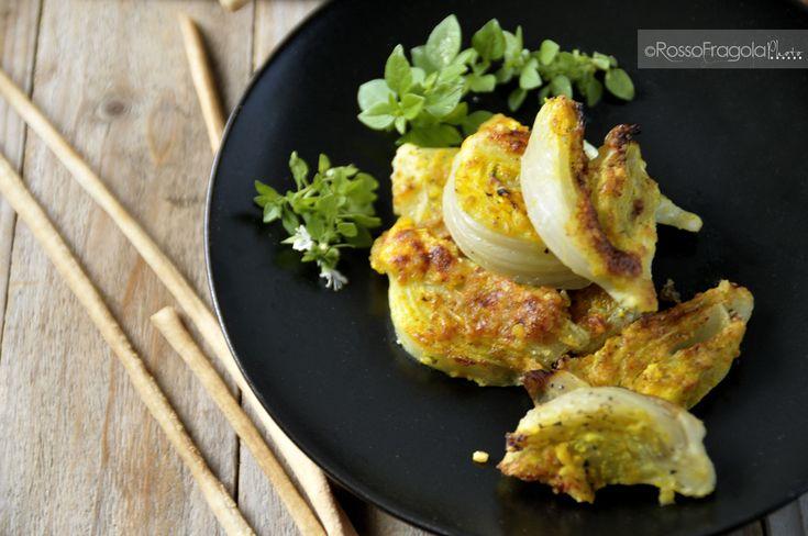 Gratin di finocchi alla curcuma - ricetta sfiziosa