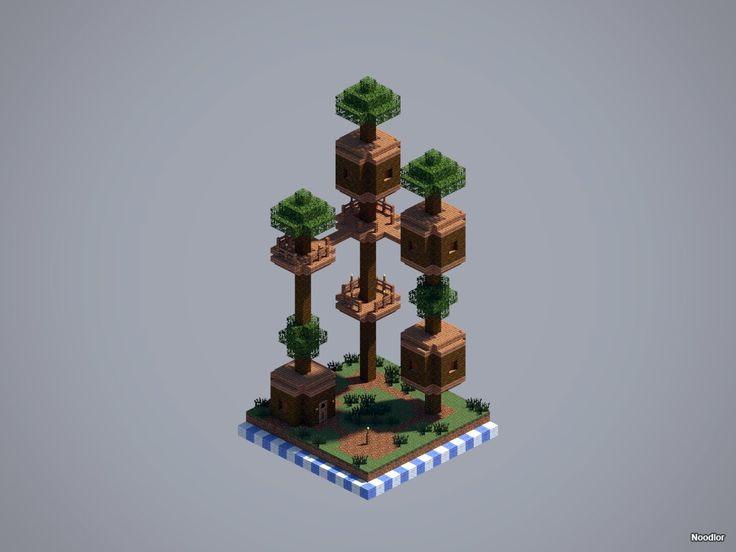 Ber ideen zu minecraft h user auf pinterest - Minecraft projekte ...