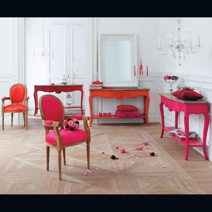 Console rouge Haute couture - Maisons du Monde