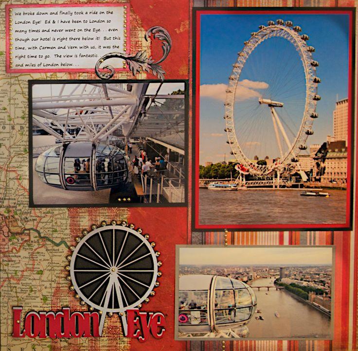 The London Eye, London, England - RIGHT SIDE - Scrapbook.com